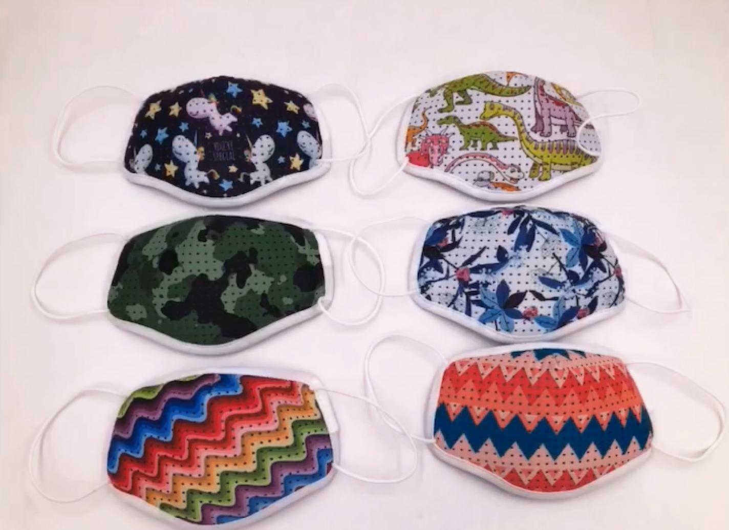 Fashion Protective washable anti odor fabric Isolation face mask 9