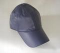 Leather PU Painter baseball cap