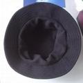 Waterproof Fabric Sun Hat Bucket Hat With Polar Fleece lining