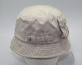 Customized Embridery pigment wash bucket hat