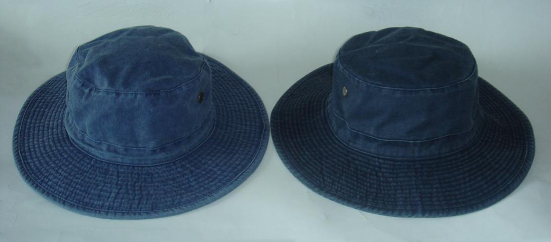 HOT Big Brim Pigment Washed Hat 2