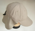 Shawl Ear flap Hats With button