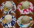 Printing Ribbon Straw Hat/Hot Summer Straw Hat / Weave Hat