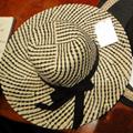 Paper Straw Wide Brim Hat / Sun Hat