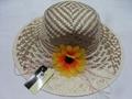 Elegant Lady Straw Hat Straw (DH-LH9119) 2
