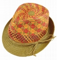 Lovely Children Straw Hat/Sun Hat/Paper Straw Hat (DH-LH9114)