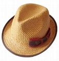 Fashional Girl Summer Hat/Sun Hat/Straw Hat (DH-LH9111)
