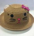 High Quality Creative Decorating Children Straw Hat (DH-LH9101)