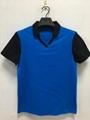 Customized 250gsm Cotton Pique Mesh Work wear Work Uniform Cloth polo shirt  3