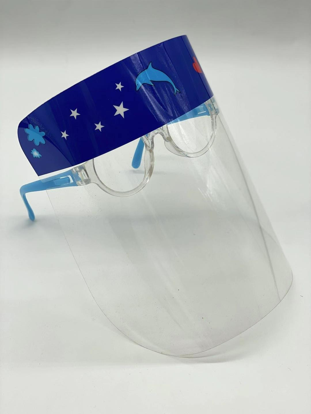 Fashion Protective Isolation Mask Face Glass Shield  1