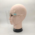 Fashion Protective Isolation Mask Face Glass Shield  5