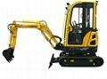 1850kgs Mini Hydraulic Crawler Excavator