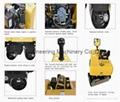 800kgs Double-drum Reversible Vibratory Road Roller DRR760