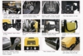 1700kgs Ride-on Double-drum Reversible Vibratory Road Roller RDRR1700