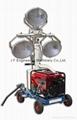 Gasoline Generator Hand-push Light Tower