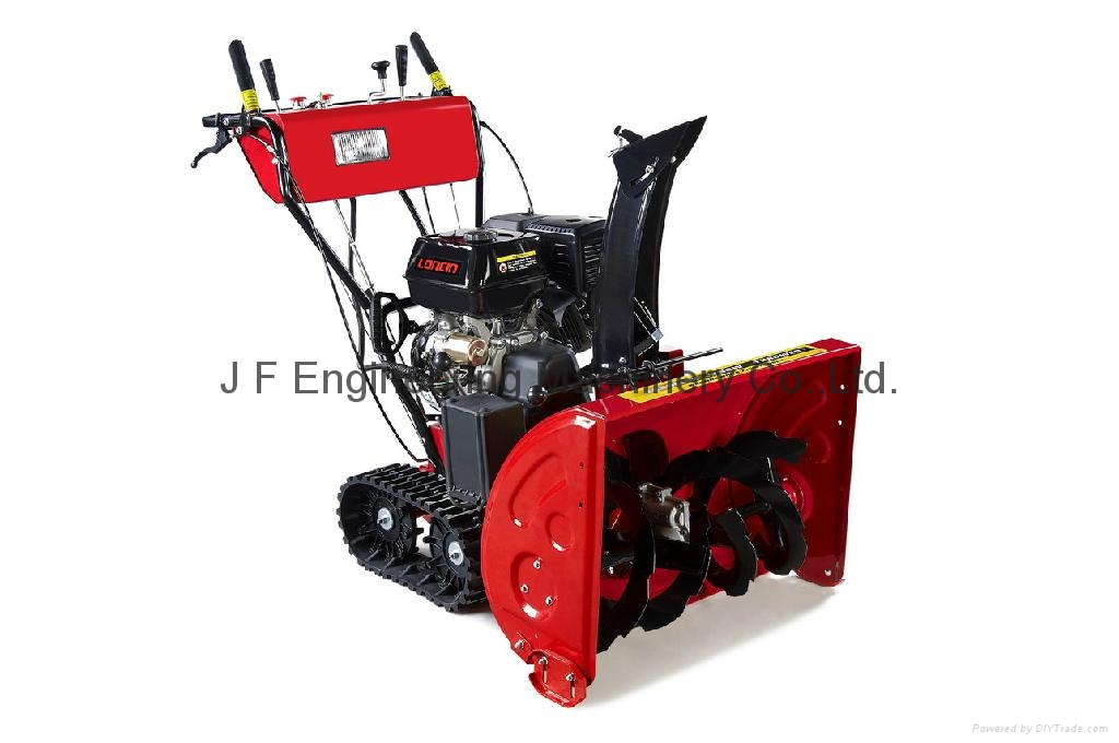 Industrial Snow Blowers : Hp track snow blower china manufacturer