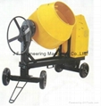 400L Heavy Duty Steel Drum Concrete Mixer