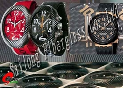 Carbon fiber Watch shell