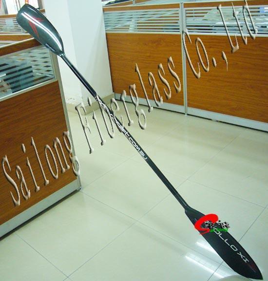 Carbon kayak paddle  1