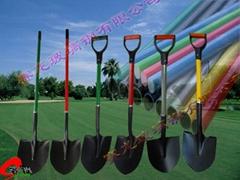fiberglass handle in shovel application