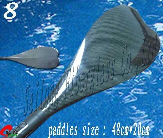 Carbon paddles No.8
