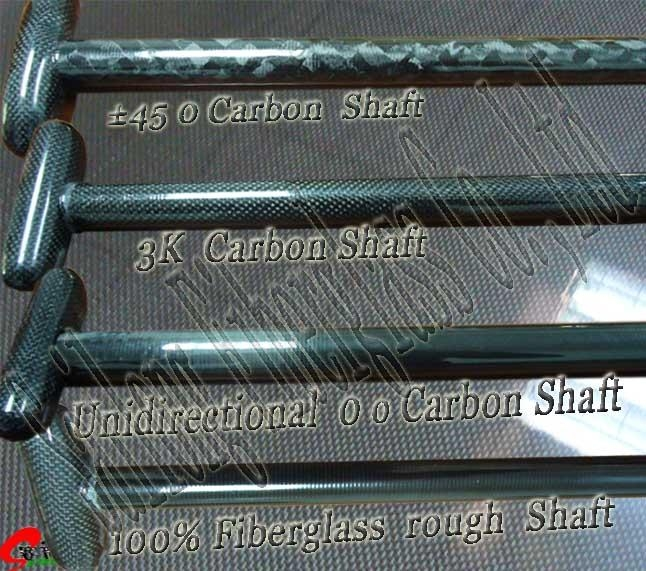 Paddle shaft