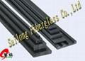 Fiberglass square Rods