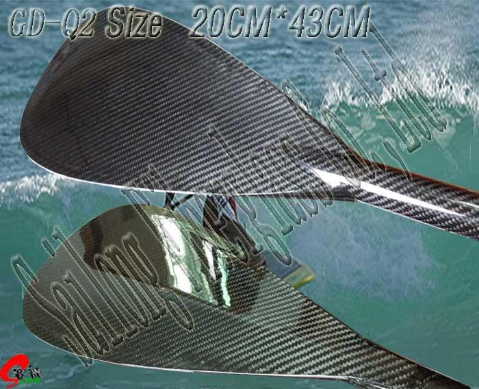 Carbon paddle Q--type 1