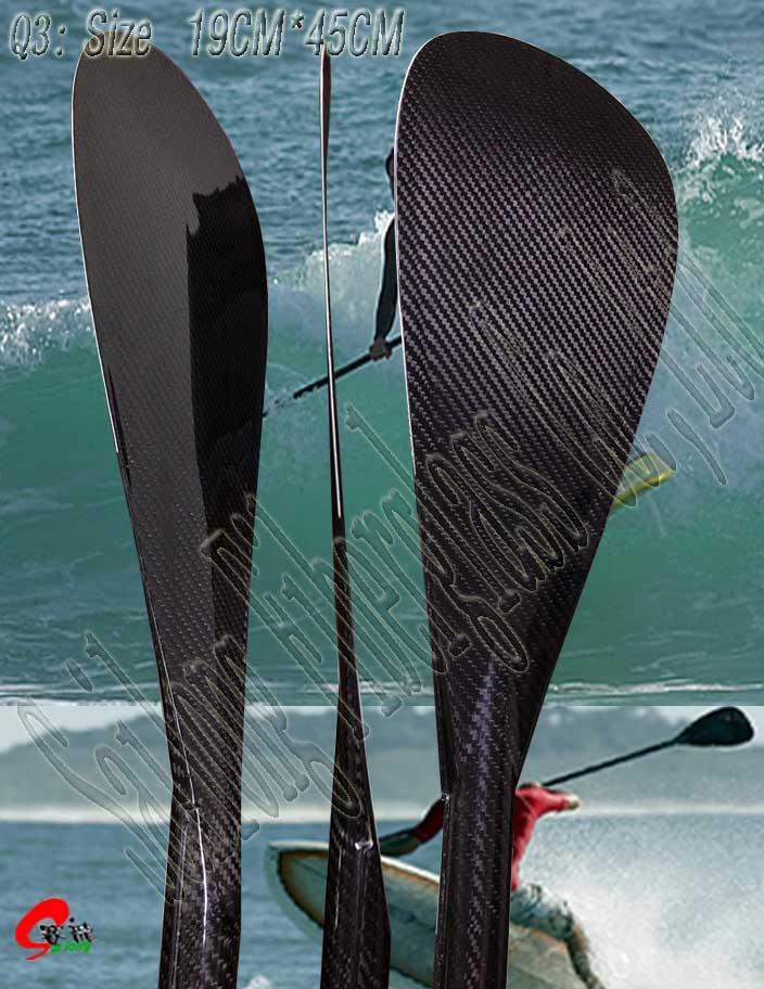 Carbon paddle Q--type 2