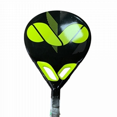 tennis paddle racket with  fiber carbon