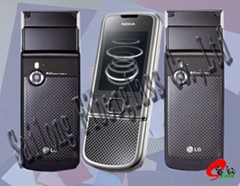 Carbon Fiber mobile telephone