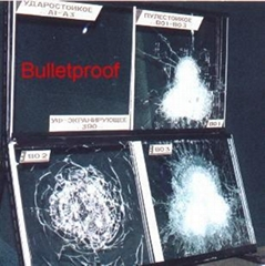 Bulletproof glass for vehicle
