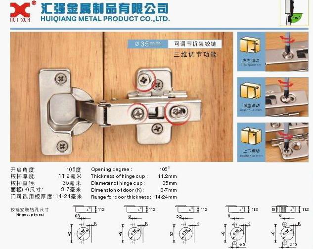 Adjustable Hinges Manufacturers Mail: NEW Adjustable Hinges