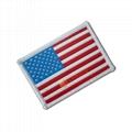 Flag Woven Label Badges