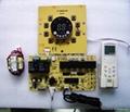 空调控制板柜机圆屏冷暖电热板