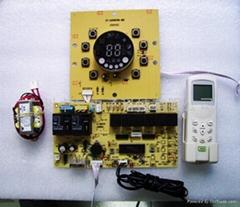 空調控制板櫃機圓屏冷暖電熱板