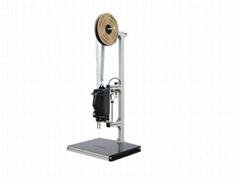 Elastic staple machine