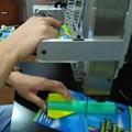 实力商家 TPU环保材料 气动弹性 背卡包装机 2