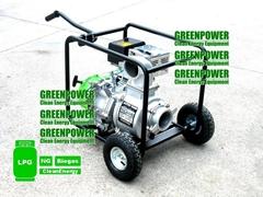 LPG water pump 4inch with wheels