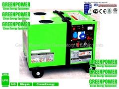 LPG generator set 5000D