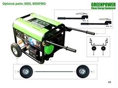 Natural gas generator set CC5000-NG-T2