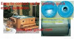 Pool & spa paper filter cartridge