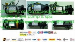 hot tub spa pump & spa heater