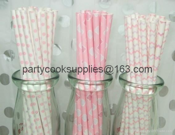 Party Paper straws  3