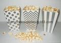 Wedding Favor Popcorn Box Candy Food Bags  4