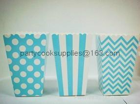 Wedding Favor Popcorn Box Candy Food Bags  3
