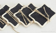 Mini Chalkboard Blackboard Gift Tags