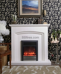 Marble Fireplace set combination Stock