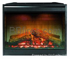 Stock fireplace D series