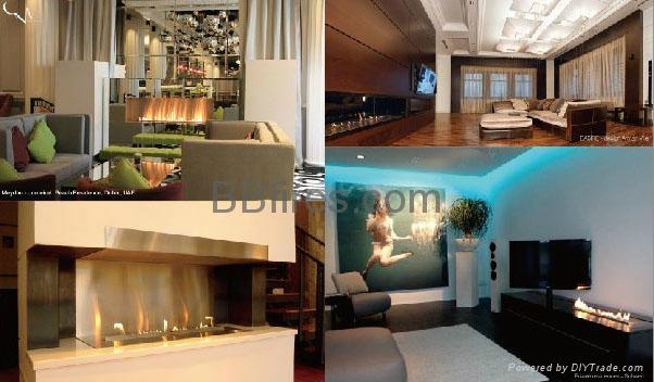 BB bio-ethanol imtelligent fireplaces in Four Season Hotel 2